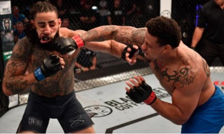 Greg Hardy Scored a Knockout in His First UFC Fight