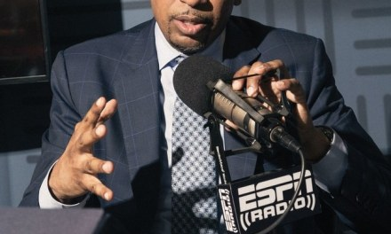 Stephen A. Smith Not a Fan of Almond Milk Cause it Causes Man Boobs