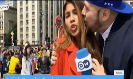 World Cup Reporter Julieth Gonzalez Theran Kissed and Groped On Live TV