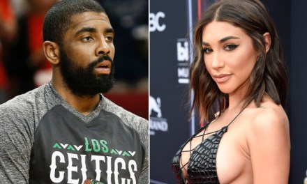 Kyrie Irving Spotted with Chantel Jeffries on Date Night