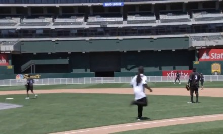 Marshawn Lynch's Best Moments from JaVale McGee Charity Softball Game