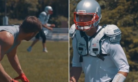 Tom Brady Posted Video of Workout with Julian Edelman