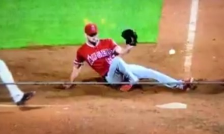Angels Pitcher Jake Jewell Stretchered Off the Field After Suffering Brutal Ankle Injury