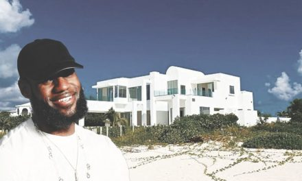 LeBron James and Wife Savannah Spotted in Anguilla
