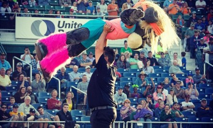 Baseball Mascot Nails '80s Dance Mashup That Included 'Dirty Dancing' Routine