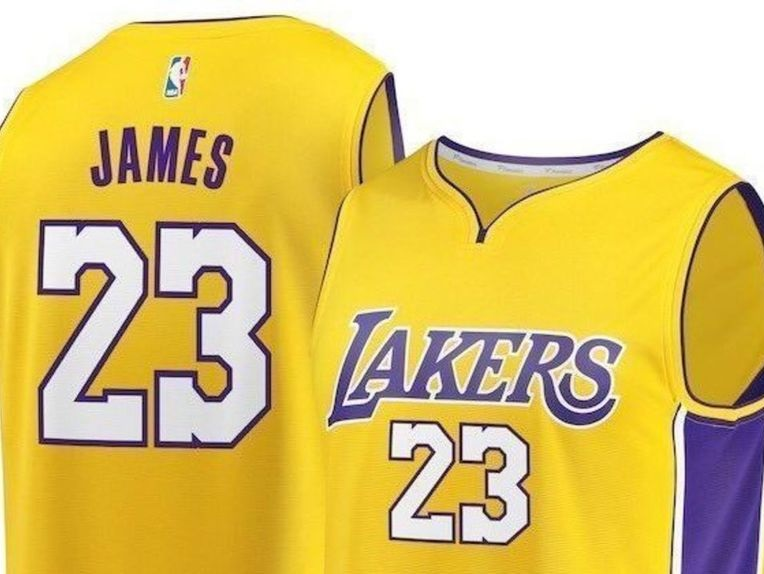 LeBron James Lakers Jerseys in Demand