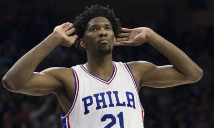 Joel Embiid Went Swimming in the Ocean for the First Time