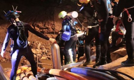 Four Thai Boys Rescued in First Phase of Cave Rescue
