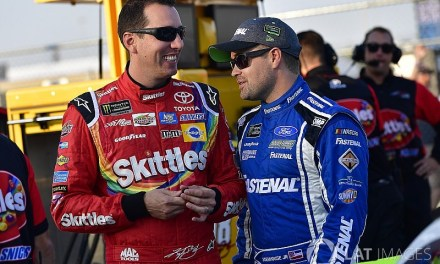 Ricky Stenhouse Warns Kyle Busch to Stop Running his Mouth