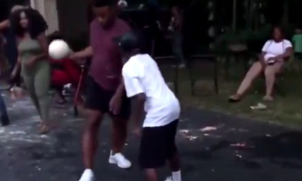 Saquon Barkley Teaches a Kid a Valuable Life Lesson by Dunking on Him