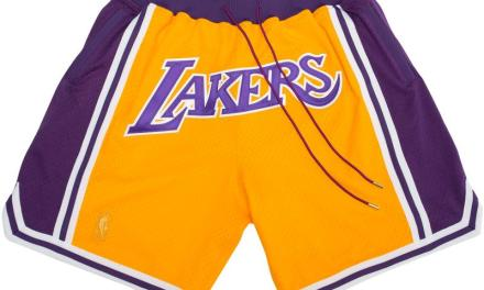 LeBron's Lakers Shorts He was Wearing are $500 and Have Sold out