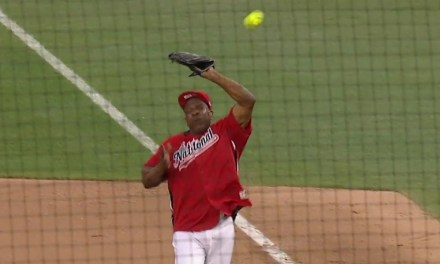 Andre Dawson Pulled a Canseco in the Celebrity Softball Game