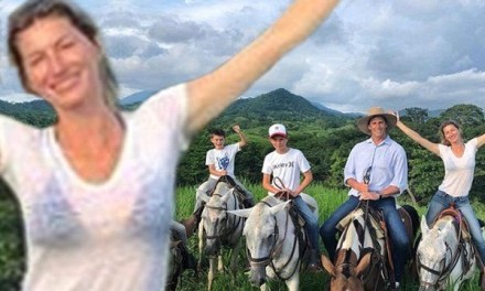 Tom Brady and Gisele Have a Horse Riding Family Vacation