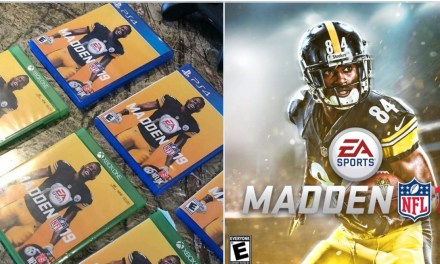 Antonio Brown is on The Cover of Madden 19