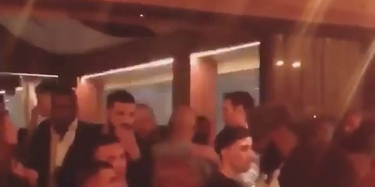 LeBron at his Uninterrupted UnRuly Party