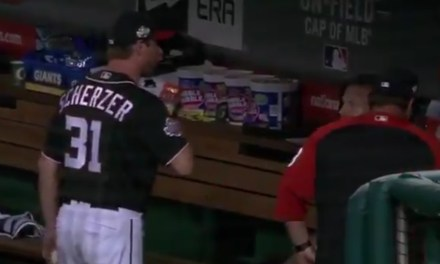 Max Scherzer and Stephen Strasburg Had a Heated Exchange in the Dugout
