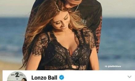 Lonzo Ball's Girlfriend Denise Garcia Gives Birth