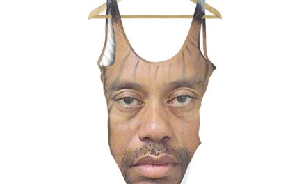 This Tiger Woods One Piece will Haunt your Dreams