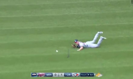 Twins Outfielder Max Kepler was Taken Out by the Rogers Centre's Turf