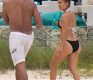 A-Rod and J-Lo Continue to Celebrate on the Beach