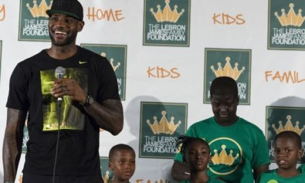 LeBron James Has 1st-day 'Jitters' with School Opening