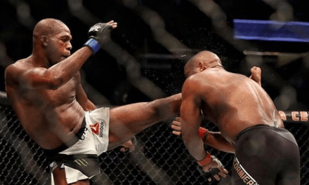 Jon Jones Posts a Picture From His Knockout of Daniel Cormier a Year Ago, Vows to Be Back