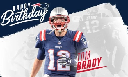 The Patriots Celebrate Tom Brady's Birthday with an Insanely Large Cake