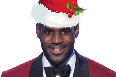 LeBron and the Lakers to face Warriors on Christmas