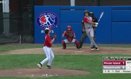 Kid at the Little League World Series Hit a Homer Over the Scoreboard and Into the Woods