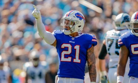 Jordan Poyer's Side Chick Was at the Bills First Preseason Game