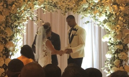 Cavs Guard George Hill and His Longtime Girlfriend Samantha Garcia Tied the Knot