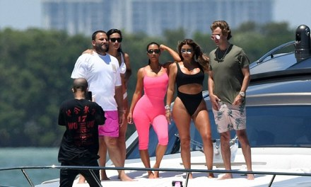 Scottie Pippen's Wife Larsa Rolling with Her Crew in Miami