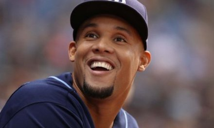 Carlos Gomez Tossed a Ball with Phone Number on it to Female Fan at Yankee Stadium