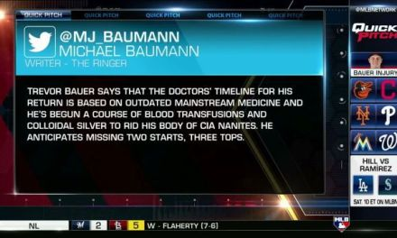 MLB Network and ESPN Falsely Report Update on Trevor Bauer Injury, He Isn't Happy About It