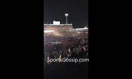AJ McCarron at Beyonce Jay Z concert