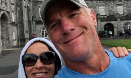 Brett Favre and Wife Deanna Visit Ireland