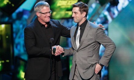 Aaron Rodgers and Brett Favre Spent Some Time Together at Favre's Place
