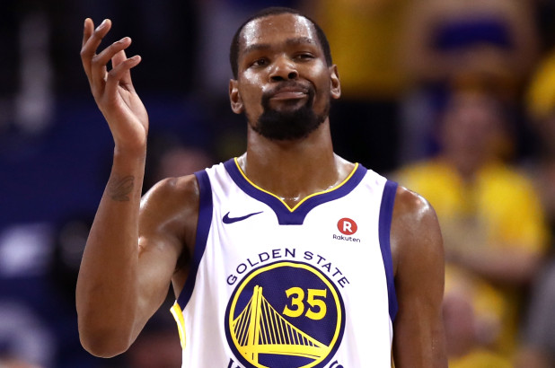Kevin Durant Sparks Rumors that He Plans to Eventually Join the Knicks after Commenting on a Trey Burke Highlight Video