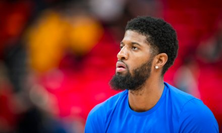 Paul George Says the Lakers Were Pissed at Him