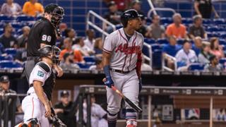 Ronald Acuna Jr. Pays Marlins Back with a 431 Foot Home Run