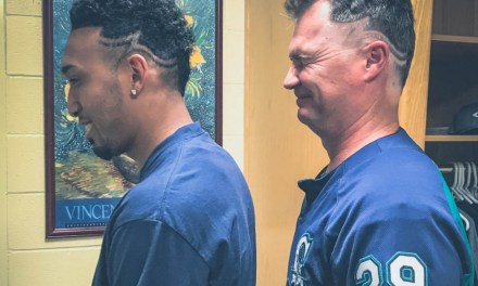 Mariners Manager Pays Up on Bet with Awesome Haircut