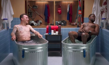 """Johnny Manziel Does """"Cold as Balls"""" with Kevin Hart"""