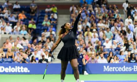 After Catsuit Ban Serena Williams Hits Tennis Court In Tutu