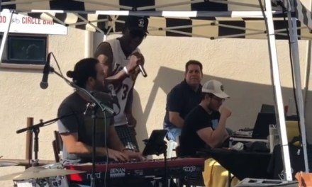 Dennis Rodman Jams out with a Band and it's Pretty Good