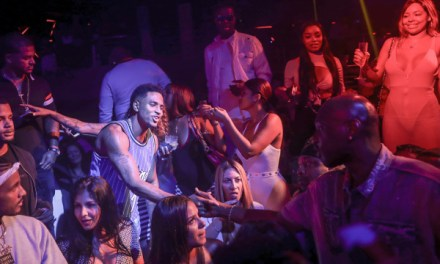 Lamar Odom Back in the States Leaving Clubs with Women