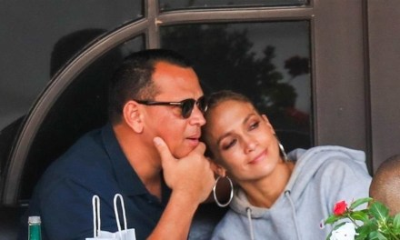 Jennifer Lopez and Her Man Alex Rodriguez Spend the Day in Beverly Hills