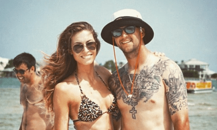 Brent Musburger Welcomes A.J. McCarron and His Beautiful Wife to the Raiders