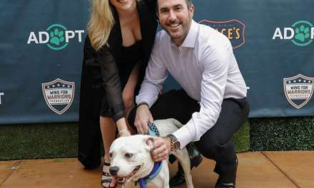 Kate Upton Hosts Pet Adoption Event in Houston with Justin Verlander