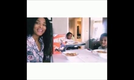 Ciara Says Eat Your Wheaties
