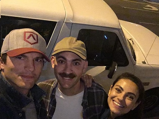 Ashton Kutcher and Mila Kunis Went on the O.J. Tour